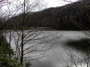 釣場の風景